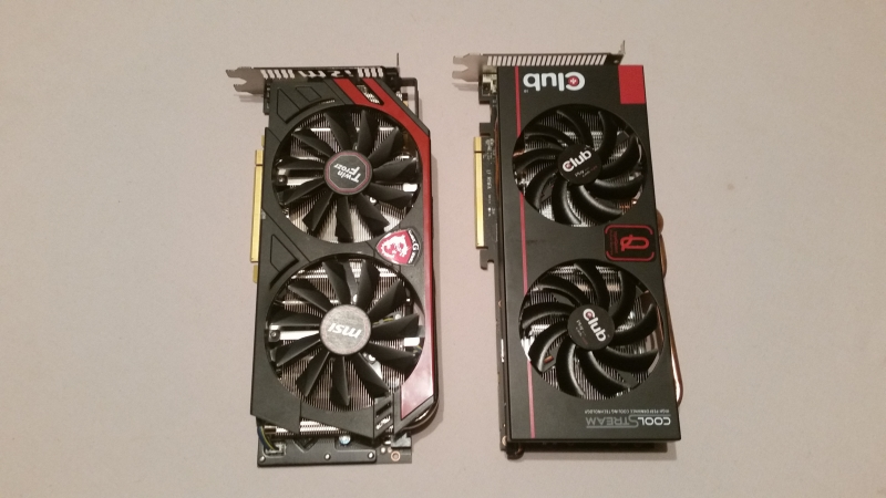 Club3D RoyalQueen R9 280X VS MSI R9 280X Gaming | Black Hole Tec